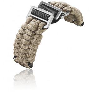 Bracelet beige pour INOX. Paracorde