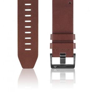 Bracelet Quickfit Cuir marron 22 mm 010-12496-05 pour Fēnix 5