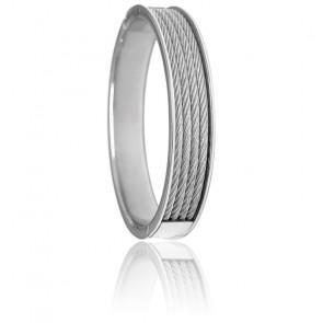 Bracelet Forever 4 rangs Acier