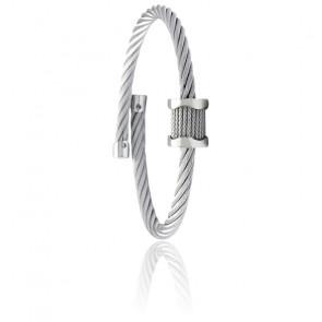 Bracelet Jonc Forever Waves Charms Acier