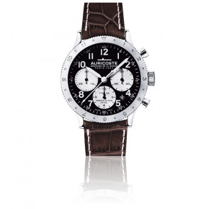 Chronograhe FlyBack Type 52 Compteurs Argent A52AP