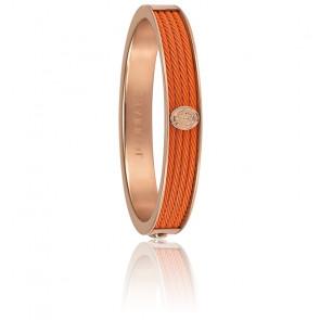 Bracelet Forever 4 Rangs Corail Acier & PVD Rose