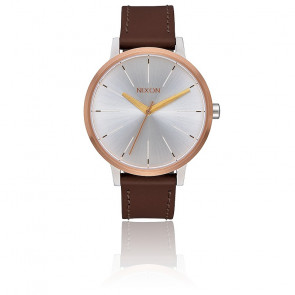 Kensington Leather Silver/ Gold/ Rose Gold A108-2632
