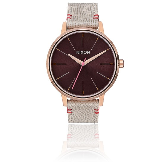 Kensington Leather Rose Gold/Brown  A108-1890
