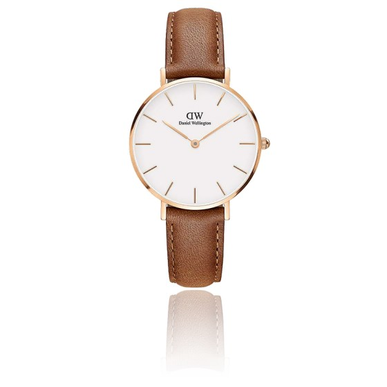 Classic Petite Durham 32 mm PVD Or Rose DW00100172