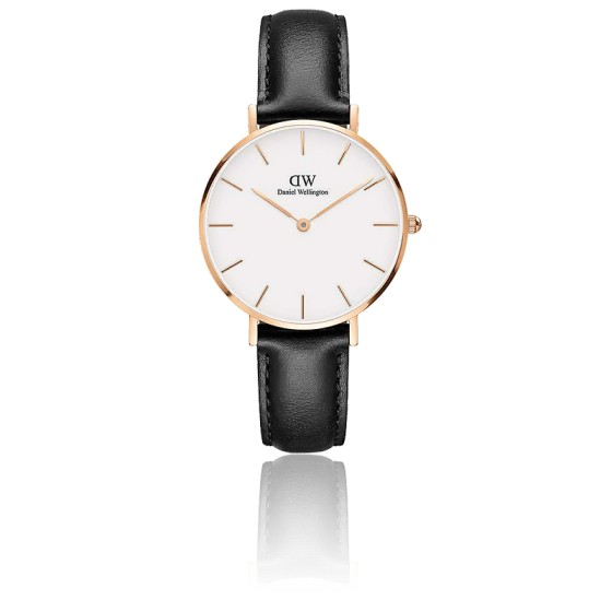 Classic Petite Sheffield 32 mm Cadran Blanc/PVD Or Rose DW00100174
