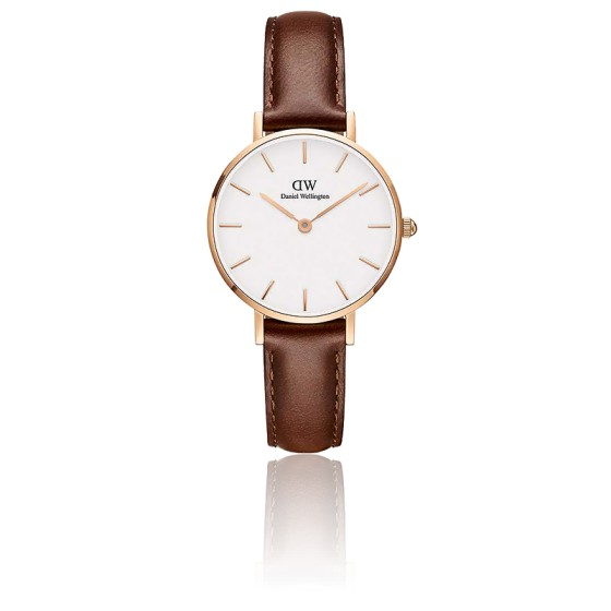 Classic Petite St Maves 28 mm Cadran Blanc/PVD Or Rose DW00100231