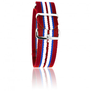 Bracelet Rouge/Bleu/Blanc/Bleu/Rouge