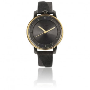 Montre Rehab 360 Gold Solid Black