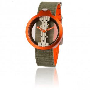 Atto Verticale Orange/Kaki 3343A3