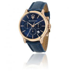 Epoca Chronographe Blue Dial Blue R8871618007