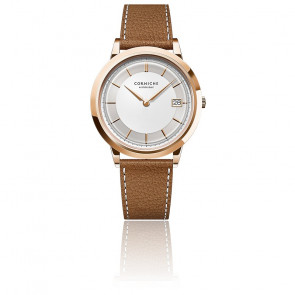 Men's Historique Rose Gold With White Dial