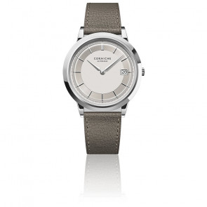 Men's Historique Stainless Steel With White Dial