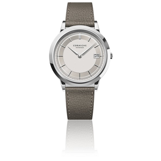 Men's Historique Automatic Stainless Steel With White Dial