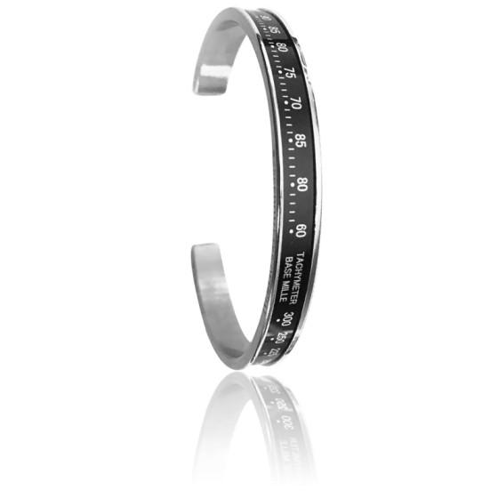 Bracelet Chrono Black Acier