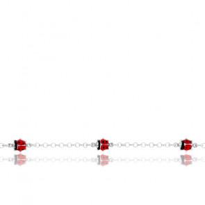 Bracelet Coccinelle Argent