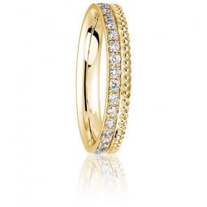 Alliance Together Séville Forever GM Diamants & Or Jaune 18K