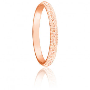 Alliance Diamanteka 2,50 mm Or Rose 18K