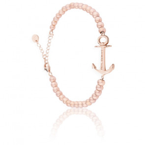 Bracelet Anchor Spirit Steel IP Or Rosé