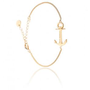 Bracelet Anchor Spirit Plated Doré