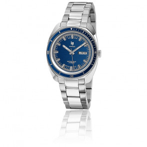 Marinier 39mm Chrome Blue Dial 671363