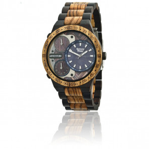Zebrano Wood and Ebony Adventure ZW078B