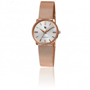 Montre Dauphine 29 Rose Gold Milanaise 671470