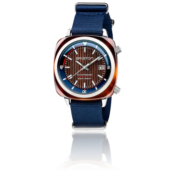 Clubmaster Diver Acétate Yachting Bleue