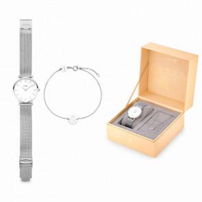 Coffret cadeau Cluse Minuit Heart Argent CLG011