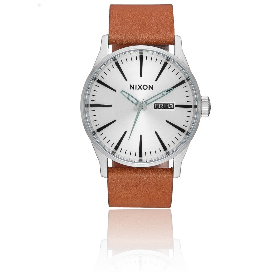 The Sentry Leather Silver/Tan A105-2853