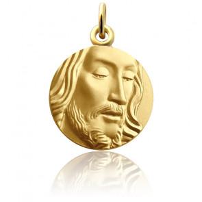 Médaille Visage de Jésus Or Jaune 18K
