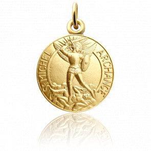 Médaille Saint Michel Or Jaune 18K