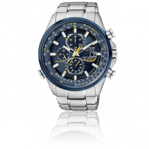 Montre  Eco-Drive Blue Angels Chronographe Atomique AT8020 -54L