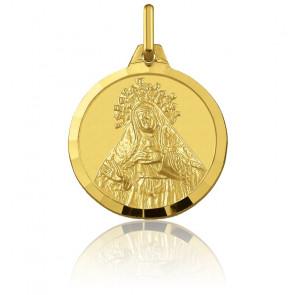 Médaille Sainte Thérèse Or Jaune 18K