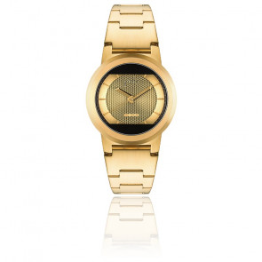 Montre Red Solar Gold