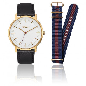Coffret cadeau Porter Gold/Black/Navy A1231-2948