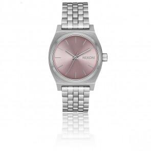 Montre Medium Time Teller Silver/Pale Lavender A1130-2878