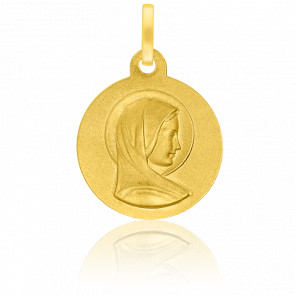 Médaille Douce Vierge Or Jaune 18K
