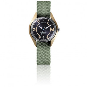 Montre Chronostase Vintage Navy / Or
