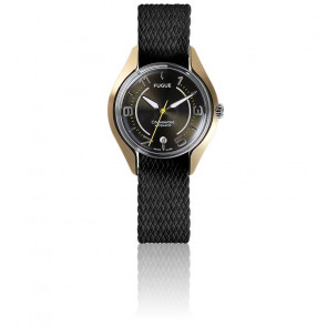Montre Chronostase Black Metal / Or
