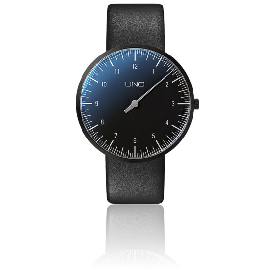 Montre UNO Titan Black Edition Quartz Leather