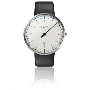Montre UNO Plus White Quartz Leather