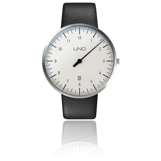 Montre UNO Plus White Quartz Leather
