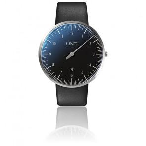 Montre UNO Plus Black Quartz Leather