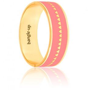 Bracelet Bollystud Rose Blush Plaqué Or Jaune
