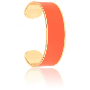 Bracelet Jonc Tangerine & Plaqué Or Jaune