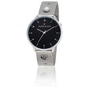 Montre Night Dream Silver Moon TO001