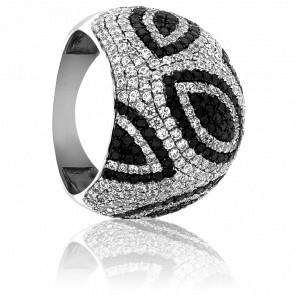 Bague Feuilles Diamantées