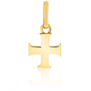 Pendentif croix des templiers, Or jaune 18K