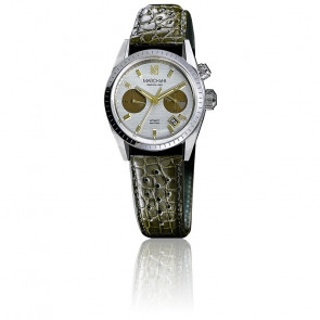 Montre Agenda Private Automatique Alligator Vert Perforé